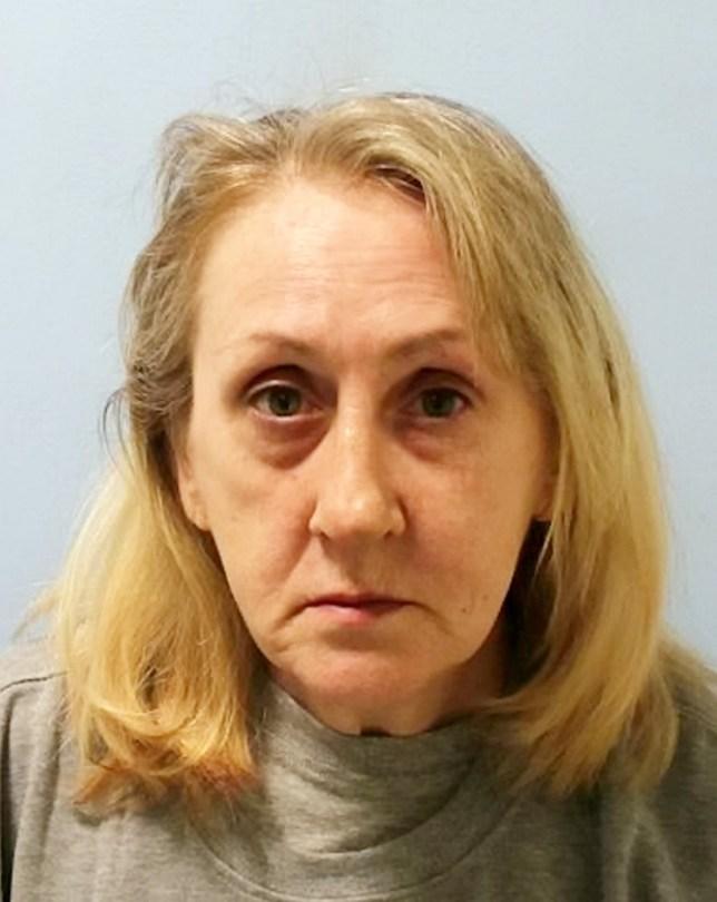 Mugshot of Carol Cowan