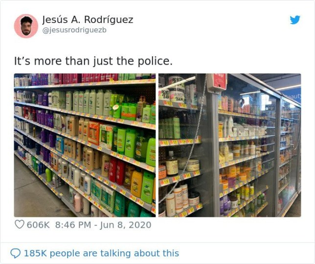 People are pointing out everyday racism in supermarkets