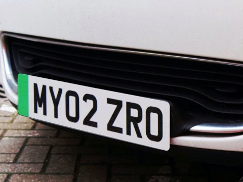 Zero emission cars to get green number plates to bypass congestion charge