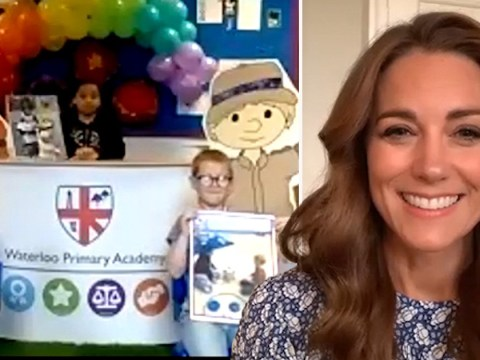 Kate Middleton says lockdown 'has been difficult for us all' in virtual school assembly