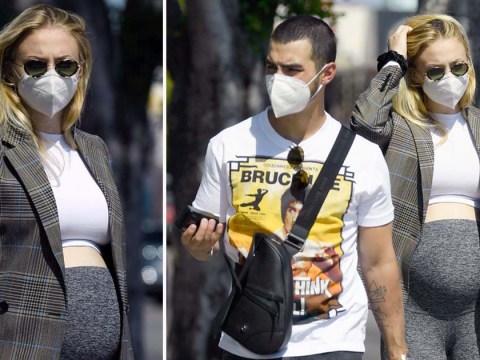 Sophie Turner steps out in Los Angeles with Joe Jonas amid pregnancy rumours