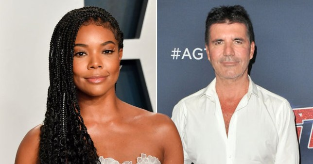 Gabrielle Union has slammed Simon Cowell's behaviour during her time on America's Got Talent