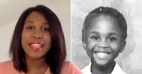 Motsi Mabuse fights back tears as she recalls racism in childhood Pics: ITV/Motsi Mabuse