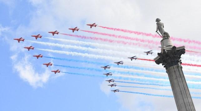 The Royal Air Force Aerobatic Team