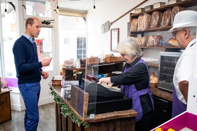 Royal visit in Norfolk