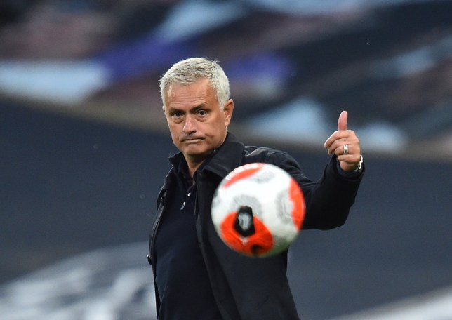 Jose Mourinho says he was happy to let Manchester United have possession against Tottenham