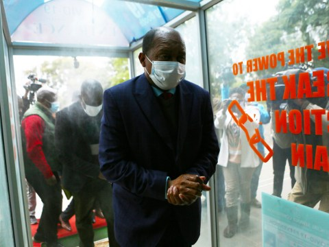 Zimbabwe's health minister in court accused of corruption over coronavirus tests