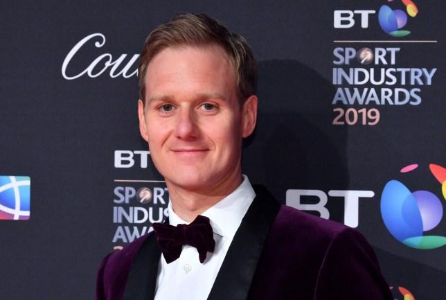 Mandatory Credit: Photo by Anthony Harvey/REX (10218669cq) Dan Walker BT Sport Industry Awards, London, UK - 25 Apr 2019