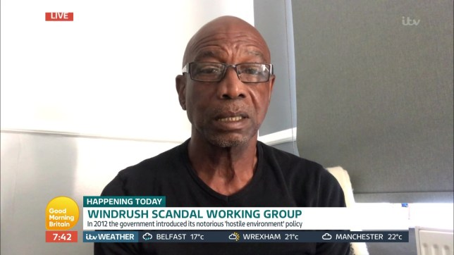 Grandfather Michael Braithwaite accused the government of continuously brushing the Windrush scandal 'under the carpet' on the 72nd anniversary of the SS Empire arriving in Essex.
