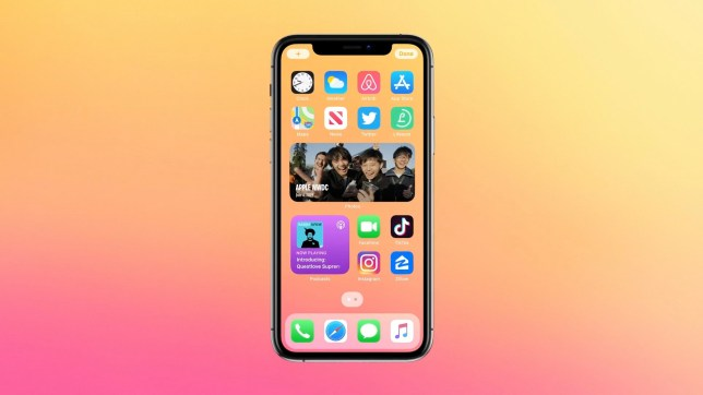 After installing iOS 14 your homescreen may look a lot different (Apple)