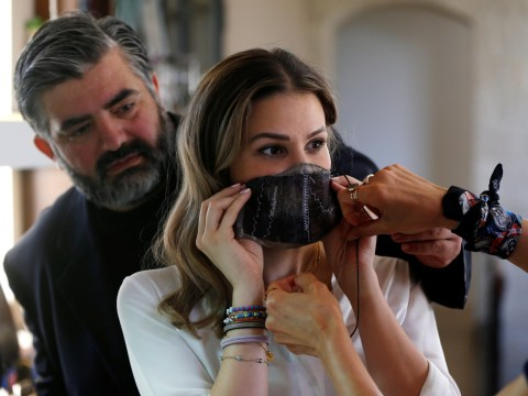 Chef creates sustainable face masks from aubergine skins