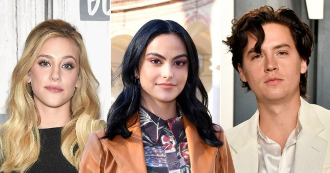 Riverdale's Camila Mendes, Cole Sprouse and Lili Reinhart