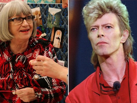 The Great British Sewing Bee judge Esme Young casually mentions she spent carnival with David Bowie and we need details