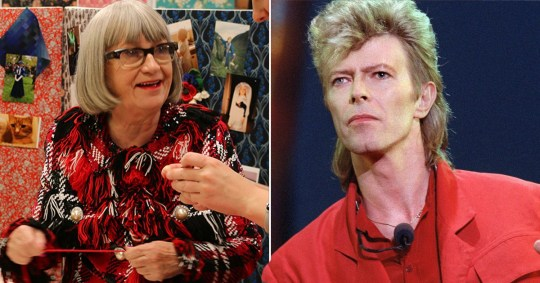 Sewing Bee's Esme dropped a casual David Bowie story in the finale and we need to know more