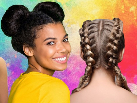 Cute hairstyles that keep your hair out the way in hot weather