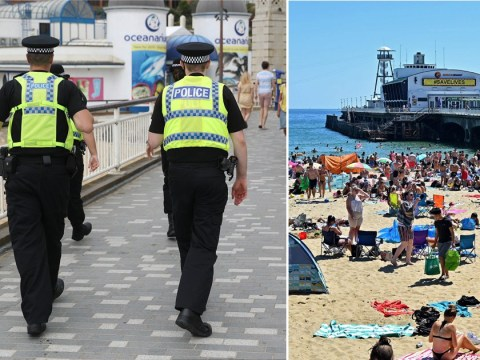People could be ordered to leave beaches this weekend after heatwave violence