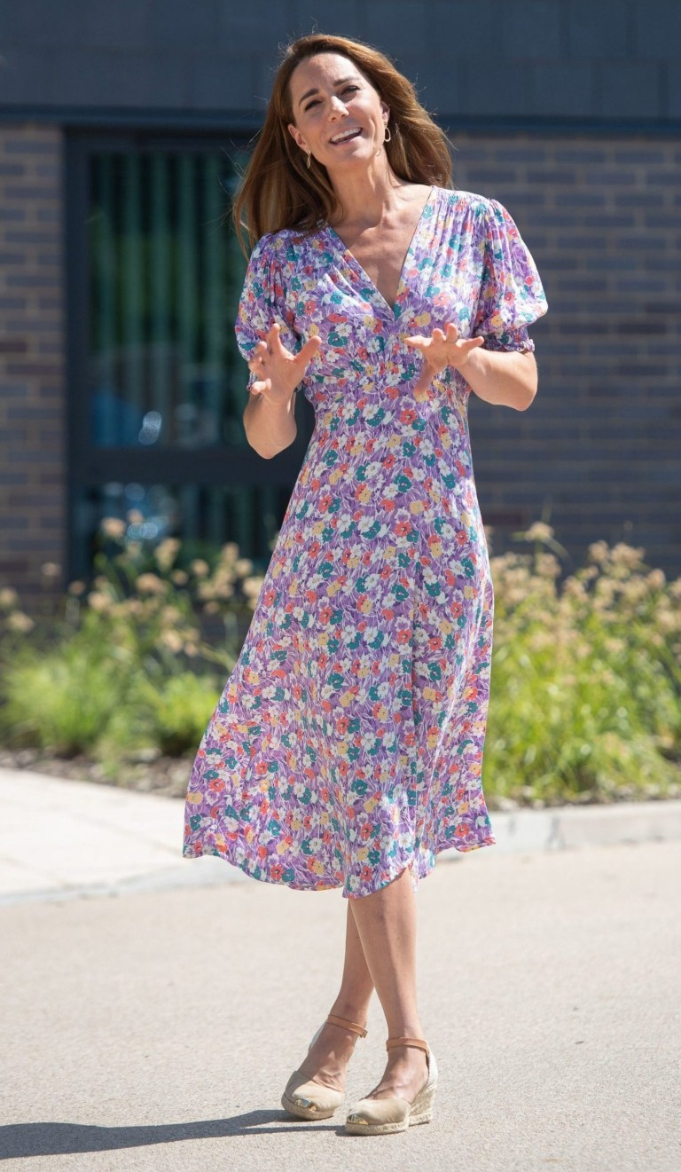 EMBARGOED: No onward transmission before 2100 BST Sat 27/6/2020. Not for publication before 2200 BST Sat 27/6/2020. The Duchess of Cambridge during a visit to The Nook in Framlingham Earl, Norfolk, which is one of the three East Anglia Children's Hospices (EACH). PA Photo. Picture date: Thursday June 25, 2020. The Duchess is the Royal Patron of the charity which offers care and support for children and young people with life-threatening conditions and their families across Cambridgeshire, Essex, Norfolk and Suffolk. See PA story ROYAL Kate. Photo credit should read: Joe Giddens/PA Wire