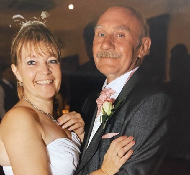 Charlie Hilder pictured with wife Lynne
