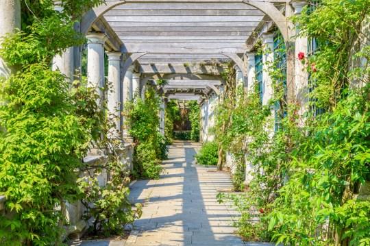 Hill Garden and Pergola, Hampstead Heath, London