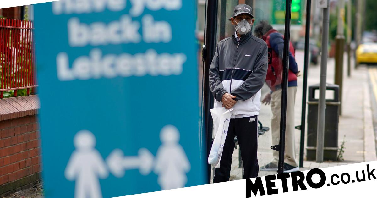 Coronavirus news live: UK death toll at 43,575 and Leicester becomes first British city to go back into lockdown