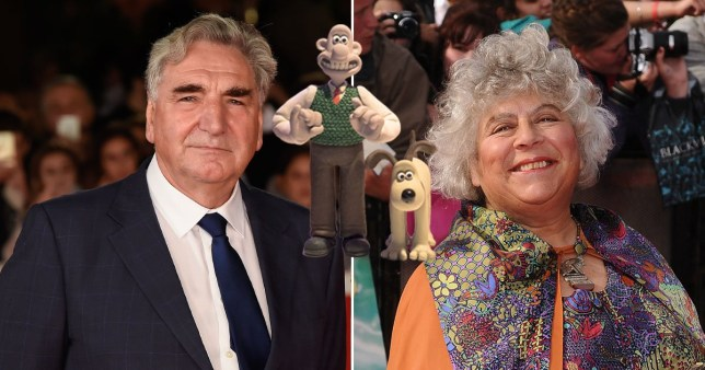 Miriam Margolyes and Downton Abbey's Jim Carter for new Wallace and Gromit project