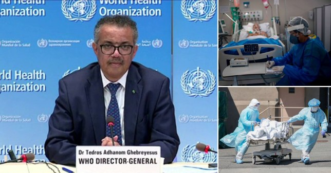 WHO head Dr Tedros Adhanom Ghebreyesus said the virus will infect many more people if governments do not start to implement the right policies to fight Covid-19