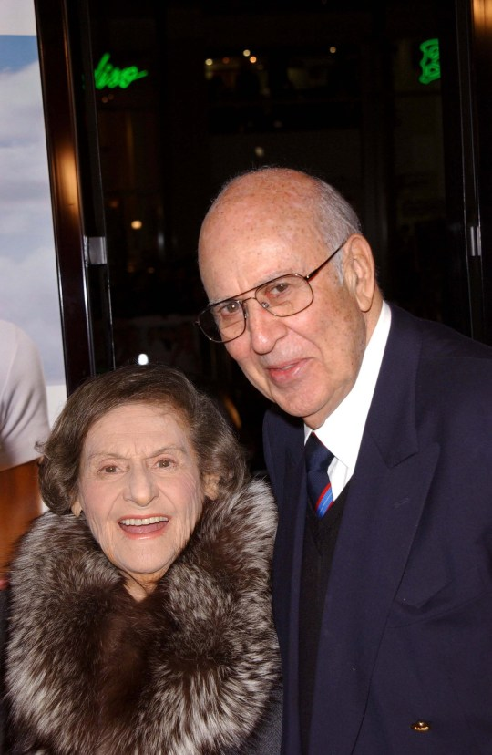 Mandatory Credit: Photo by Jim Smeal/BEI/REX (566028w) Estelle Reiner and Carl Reiner 'Rumor Has it' film premiere, Los Angeles, America - 15 Dec 2005