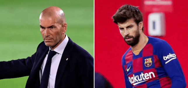 Zinedine Zidane's Real Madrid can draw level with Barcelona at the top of the La Liga table with a win over Real Sociedad