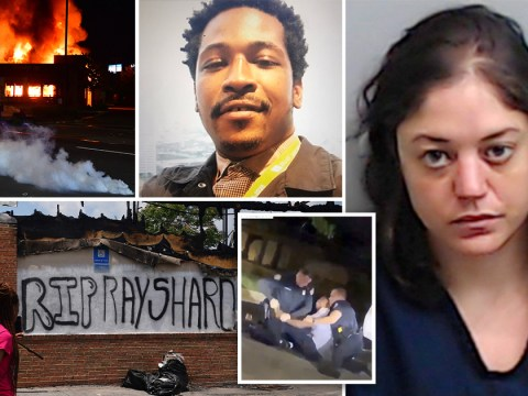 Rayshard Brooks' girlfriend 'set fire to Wendy's where he was shot dead by cops'