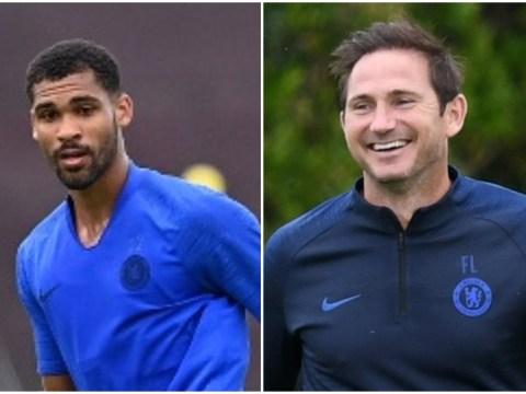 Frank Lampard tests Ruben Loftus-Cheek on the left wing ahead of Chelsea return