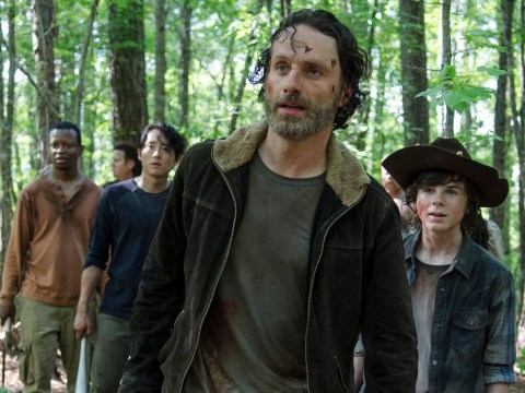 The Walking Dead star brands Andrew Lincoln 'intense' as he reveals what Rick Grimes actor is like BTS