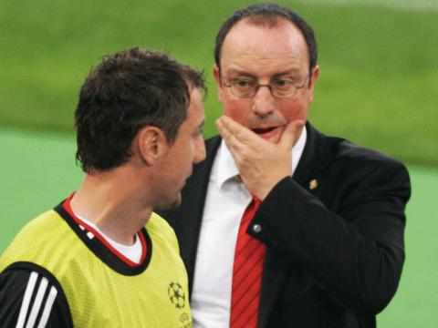 Liverpool hero Jerzy Dudek claims 'evil whisper' in his head told him to punch Rafa Benitez