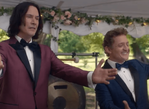 Bill & Ted Face The Music gets official teaser trailer and it's excellent, dudes