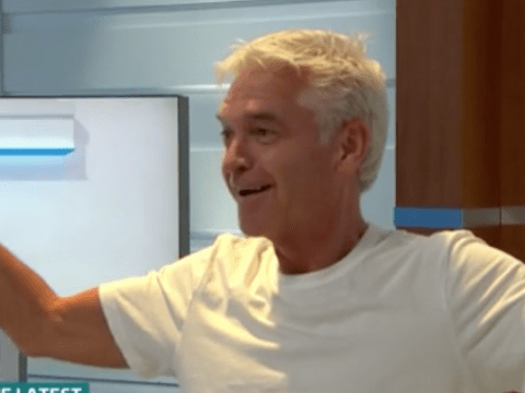 Phillip Schofield gatecrashes grey hair debate on GMB and admits he got bored of constantly dyeing his locks