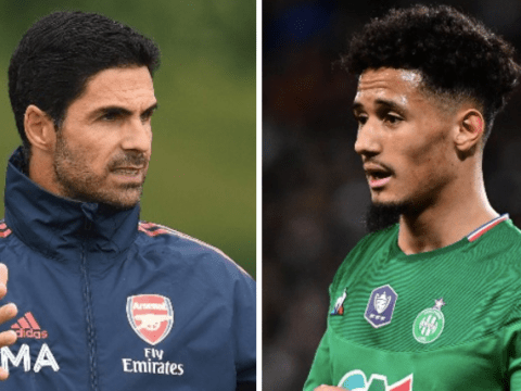 William Saliba has 'earned the right' to play Saint-Etienne's Coupe de France final, says Arsenal boss Mikel Arteta
