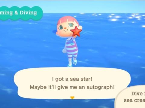Animal Crossing: New Horizons wave 1 summer update adds swimming