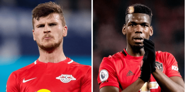 Manchester United held a face-to-face transfer meeting with Chelsea-bound Timo Werner in February