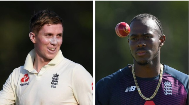 Zak Crawley believes Jofra Archer is in a 'good place' ahead of the West Indies series
