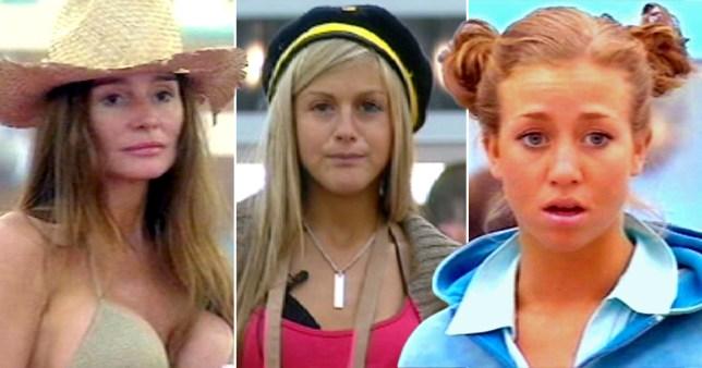 Susie Verrico, Nikki Grahame, Grace Adams-Short from Big Brother