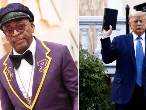 Spike Lee calls Donald Trump a 'gangster' in response to George Floyd protests