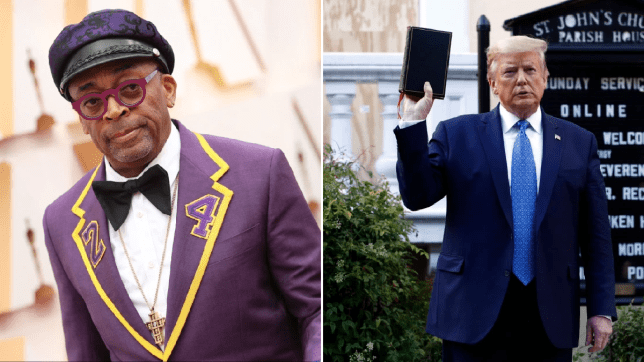 Spike Lee and Donald Trump
