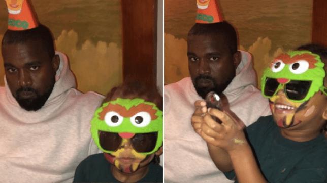 Kanye West birthday party