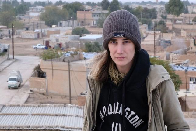 Dani Ellis from London is based in northeastern Syria as a volunteer and electrical engineer