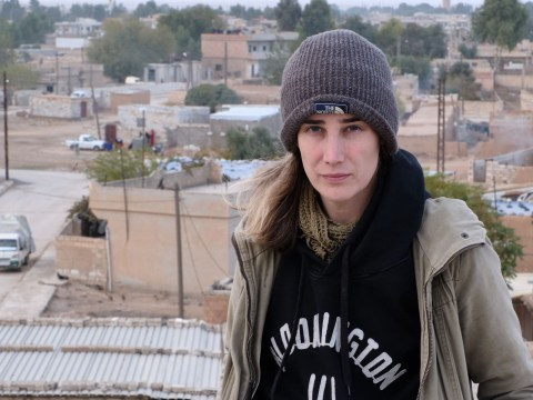 Female volunteer in the Syrian state of Rojava, where threats of airstrikes and coronavirus loom, says she's treated with more respect there than she ever was in the UK