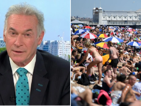 Dr Hilary warns 'we're going to get a second peak' of coronavirus as people break social distancing on beaches
