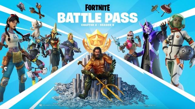 Fortnite Chapter 2: Season 3 Battle Pass