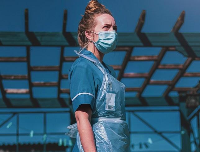 NHS worker