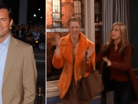 Friends stars explain how Matthew Perry inspired Phoebe's iconic 'My eyes! My eyes!' line