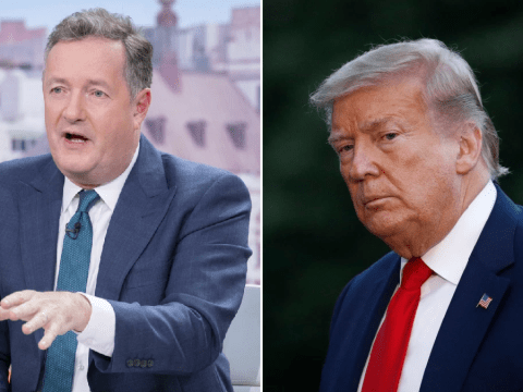 Piers Morgan calls for Donald Trump to take the knee amid George Floyd protests