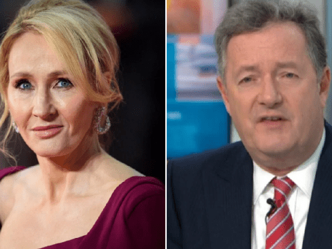 Piers Morgan accuses JK Rowling of 'playing the victim' card during 'anti-trans' backlash
